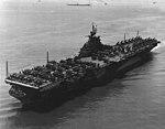 USS Ticonderoga (CV-14) in Hampton Roads on 26 June 1944.jpg