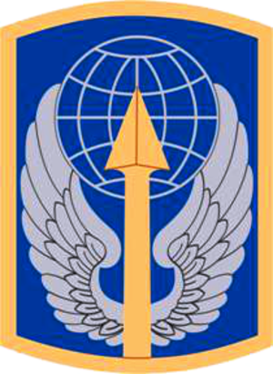 166th Aviation Brigade (United States) - 166th Aviation Brigade shoulder sleeve insignia