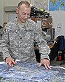US Army 51146 Mapmaker deploys despite hardship.jpg