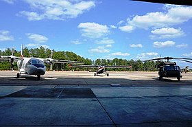 US Army USASOC Flight Company Aircraft