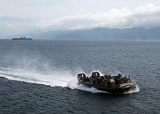 Leyte Gulf - Leyte Gulf near Guinsaugon
