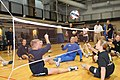 US Navy 111122-N-DX698-145 Service members participate in a sitting volleyball tournament at the Pentagon Athletic Center to commemorate Warrior Ca.jpg