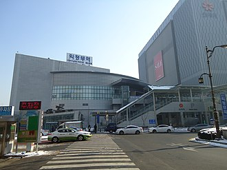 Uijeongbu station - Uijeongbu Station Foreground