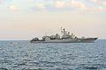 Ukrainian navy frigate Hetman Sahaydachniy (26917422366).jpg