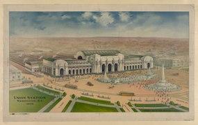Union Station Washington, D.C. 1906