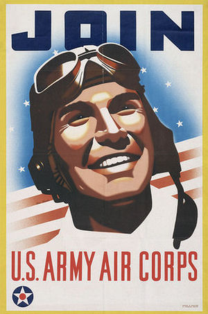 United States Army Air Corps - United States Army Air Corps Recruiting Poster