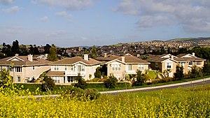 University Hills, Irvine - University Hills, from above California Ave