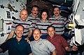 Unofficial On-board STS-61 crew portrait (28049531871).jpg