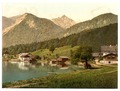 Urfeld on Walchensee with Herzogstand, Upper Bavaria, Germany-LCCN2002696301.tif