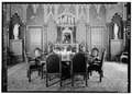 VIEW DINING ROOM TO NORTH - Lyndhurst, Main House, 635 South Broadway, Tarrytown, Westchester County, NY HABS NY,60-TARY,1A-60.tif