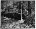 VIEW TO NORTHEAST - Deer Creek Bridge, Spanning Deer Creek at Township Road 406, Geff, Wayne County, IL HAER ILL, 96-GEFF. V, 1-4.tif