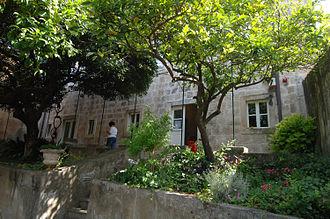Vlaho Bukovac - Bukovac's home in Cavtat
