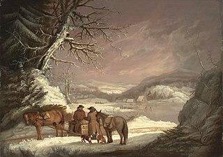 A Roadside Meeting: Winter