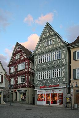 Vaihingen Marktplatz 12 und Marktgasse 2