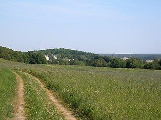 Sinimäed Hills - View from Põrguaugu mägi towards Pargimägi