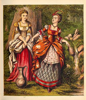 Diamonds and Toads - Image: Valentine, Laura Aunt Louisa's Nursery Favourite 0011