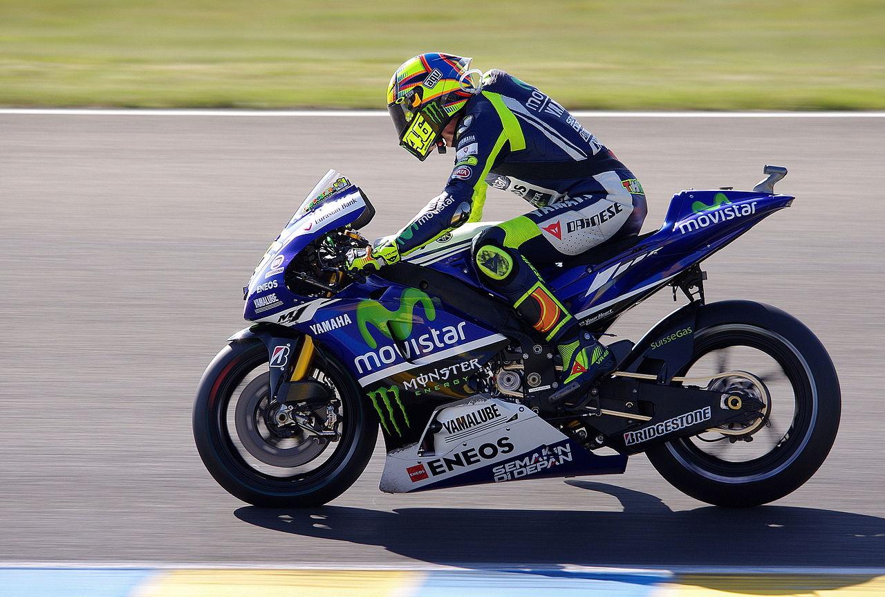 Poster Valentino Rossi Yamaha