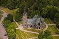 Vallsjö kyrka från luften.jpg