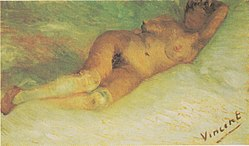 ونسان ون گوگ: Nude Woman Reclining