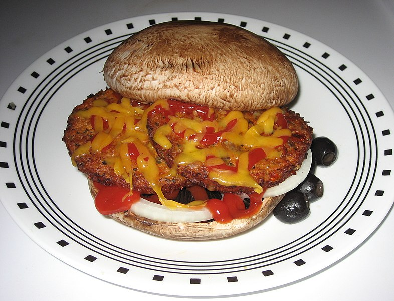 File:Veggie burger SuziJane flickr creative commons.jpg
