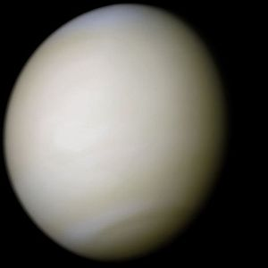Selection of Discovery Mission 13 and 14 - Image: Venus real color (crop tight)