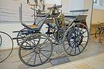 Verkehrsmuseum Dresden - Straßenverkehr - Daimler Motorkutsche 1886 - DSC4798.jpg