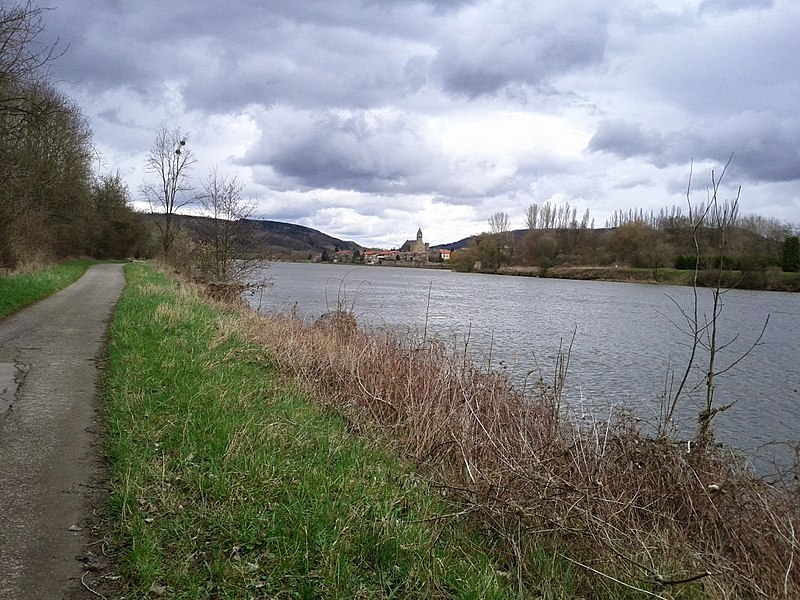 Vers Cattenom (Moselle)
