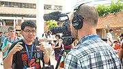 Victor Grigas (Victorgrigas) en Wikimanía 2013 (1376134201) Hung Hom, Hong Kong.jpg