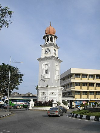 Jubilee Clock Tower - Image: Victoria Clock Tower Penang Dec 2006 001