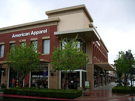 Victoria Gardens American Apparel