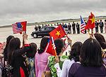 Vietnam Communist Party leaders arrives at Joint Base Andrews, to meet President Obama 150706-F-WU507-253.jpg