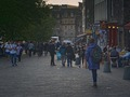 View down Edinburgh's Grassmarket during Edinburgh Fringe 2014.tif