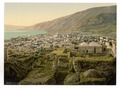 View from the fortress, Tiberias, Holy Land, (i.e., Israel)-LCCN2002725059.tif