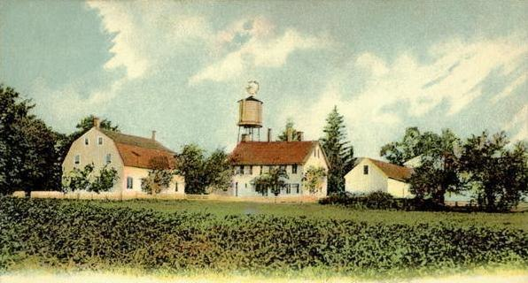 View of Canterbury Shaker Village