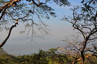 Elephanta Island - Image: View of Elephanta island jetty