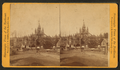 View of the first Corn Palace, Sioux City, Iowa, from Robert N. Dennis collection of stereoscopic views.png