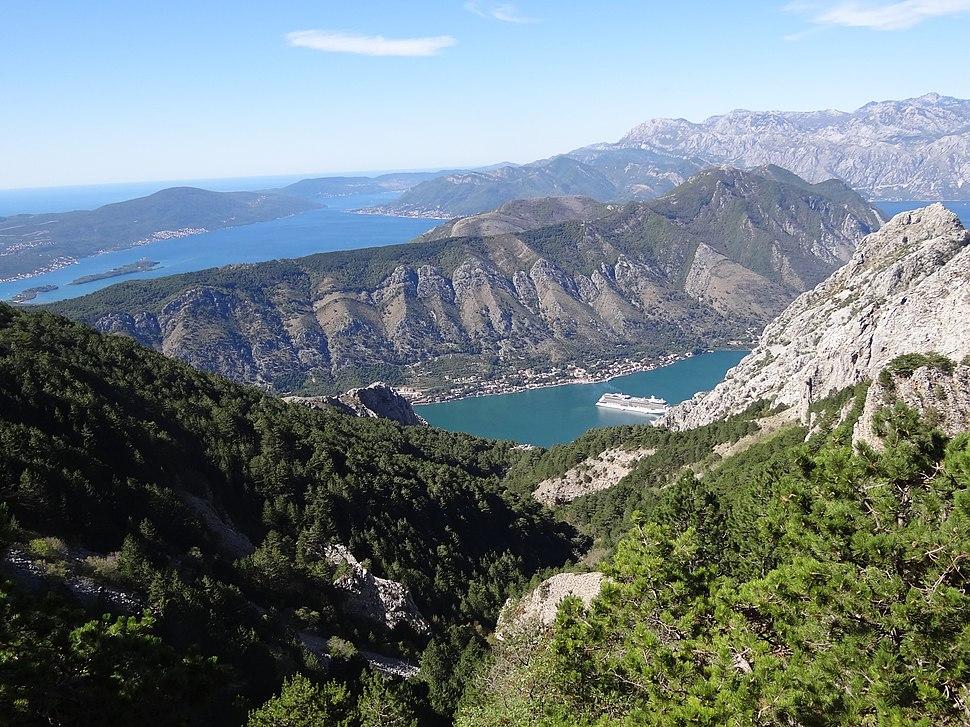 View over Bay of Kotor - Montenegro - 01