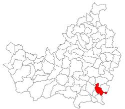 Vị trí của Viisoara