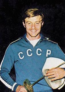 Viktor Sidyak Soviet fencer