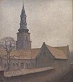 Vilhelm Hammershøi - St. Peter's Church, Copenhagen - KMS2051 - Statens Museum for Kunst.jpg