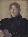 Vilhelm Hammershøi - Thora Bendix, née Anne Victoria Sundberg - KMS6693 - Statens Museum for Kunst.jpg