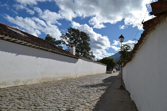 Sector Antiguo de la ciudad de Villa de Leyva