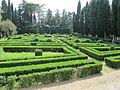 Villa schifanoia, giardino, terza terrazza 01.JPG