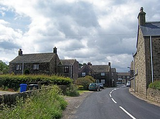 Bolsterstone - Image: Village Street, Bolsterstone geograph.org.uk 1626826