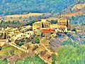 Village de Lagrand, vu du chemin de Vieil Eyguians.jpg