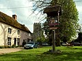Village sign at Stoke by Clare, Suffolk - geograph.org.uk - 167856.jpg