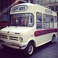 Vintage... Ice cream van currently parked outside @mcrmuseum (20259714043).jpg