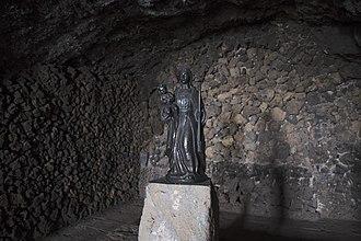 Cave of Achbinico - Image: Virgen de la Candelaria Cueva de Achbinico Tenerife