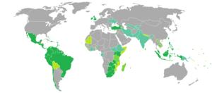 Visa requirements for Belizean citizens - Image: Visa requirements for Belizean citizens