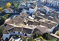 Vista del raval del Castell de Guadalest des del cementeri.JPG